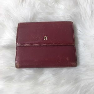 Etienne Aigner wallet with Change snap pre loved